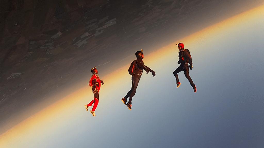Aube parachutisme