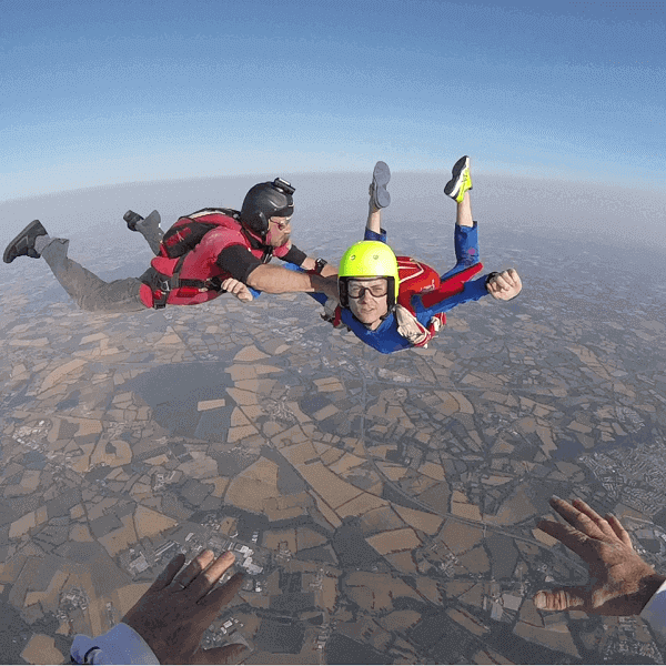 Parachutisme proche Nantes