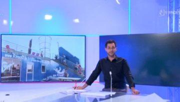 TV Vendée : Découverte du simulateur de chute libre Flydust